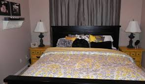 Gray And Yellow Color Schemes Bedding Set Grey And White Bedding Amazing Grey White Bedding