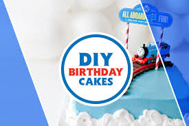 easy diy train birthday cakes your little engineer will love