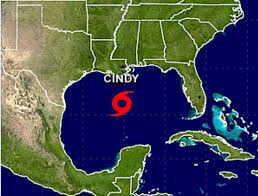 Storm Map Tropical Storm Cindy Forecast For Impacts On Gulf Coast Disaster