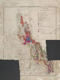 Geological Map Geological Survey Of Queensland Queensland Historical Atlas