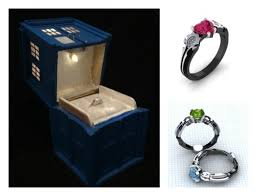 geeky engagement rings a guide to creating the custom geeky engagement ring or ring box
