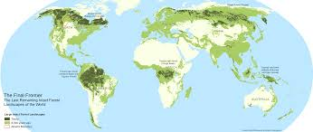 Map Of Russia And Alaska by Maps The Last Great Intact Forest Landscapes Of Canada Atlas Of