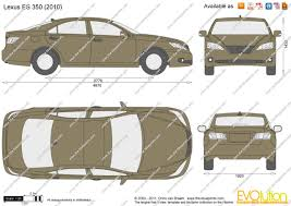price of 2012 lexus es 350 the blueprints com vector drawing lexus es 350