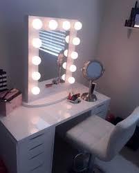 Lighted Desk Home Accessory Makeup Dresser Makeup Desk Light Mirror Makeup