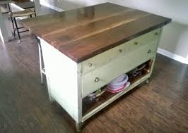 How To Kitchen Island Cabinet How To Turn An Old Dresser Into A Kitchen Island Dresser
