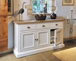 White Living Room Furniture Hutch Chippenham White Painted Living Range