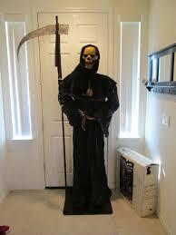 over 6 feet grim reaper executioner deluxe life size halloween