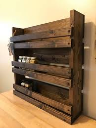 wall mounted spice rack cabinet 201 best magazine racks images on pinterest magazine racks