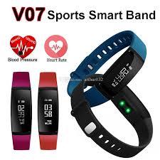 heart rate tracker bracelet images Smart band heart rate monitor blood pressure pulse rates v07 jpg