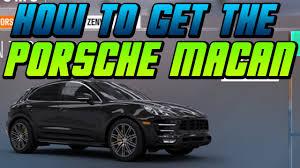 Porsche Macan Build - how u0026 when you can win get the porsche macan turbo in forza