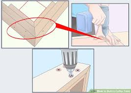 How To Build A Hexagon Picnic Table With Pictures Wikihow by How To Build A Coffee Table 10 Steps With Pictures Wikihow