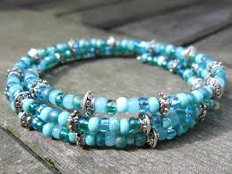 make bead bracelet wire images Memory wire wrap bracelet in my spare time jpg