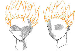 spiky anime hairstyles spiky hair drawing at getdrawings com free for personal use spiky