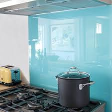 Painted Glass Heres A Tip To Spray Paint The Back Of A Sheet Of - Painted glass backsplash