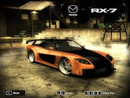 mazda rx7 2016 need for speed most wanted mazda rx 7 veilside nfscars