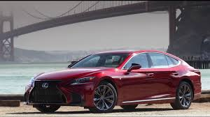 lexus ls india 2018 lexus ls 500 f sport design in matador red youtube