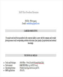 Sap Bi Resume Sample For Fresher by Sap Fi Resume Sandeep Sap Fi Resume 43 Professional Fresher