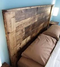 Reclaimed Wood Headboard Sale Pallet Headboard Dark Walnut Twin By Sibusfurnituredecor