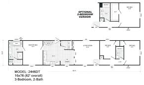 Redman Homes Floor Plans by Cavco Homes Floor Plan 1656cr A 2 Bedroom 1 Bath Single Wide Png