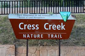 Interior Signs Trail Bascombe U0027s Travelblogue June 2015 Cress Creek Nature Trail