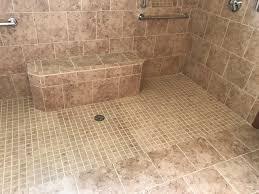 custom walk in showers custom showers indianapolis shower design remodel