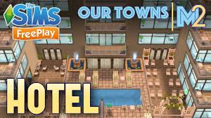 sims freeplay 2nd hotel by the beach original design youtube