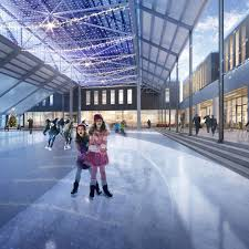 an ice skating rink and mini waterpark are coming to lonsdale quay