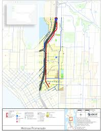 Seattle Bike Map by Melrose Promenade Awarded 3 Million For Construction The Urbanist