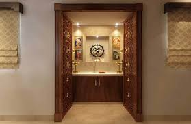 pooja door ideas u0026 contemporary home design idea in bengaluru