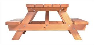 Indoor Picnic Table Wooden Folding Picnic Table How To Make Folding Bench And Picnic