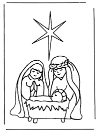 christmas coloring pages jesus wallpapers9