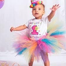 birthday onesie a personalized rainbow birthday onesie and tutu set