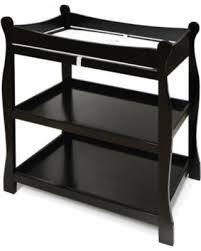 Badger Basket Changing Table White Amazing Savings On Badger Basket Sleigh Changing Table