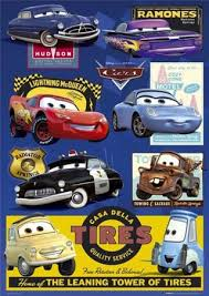 cars 7 character collage cars movie popartuk