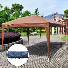 Heavy Duty Gazebo Bag by Gym Equipment Outdoor Pop Up Canopy Tent With Carry Bag 10 U0027 X 20 U0027