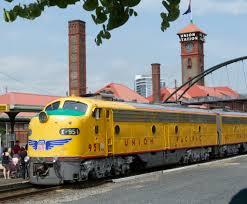 union station portland or passenger train pinterest