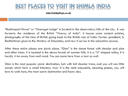best places to visit in shimla india holidaykeys co uk