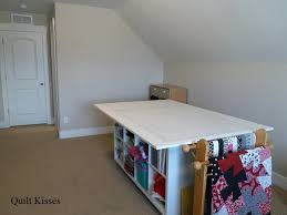 Quilting Cutting Table by Quilt Kisses My Studio