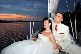 wedding on a boat weddings on a boat in south florida aboard a sail boat in