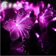 christmas tree flower lights 10m led string fiber optic flower fairy lights string l light