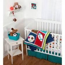 Sumersault Crib Bedding 8pc Sports Crib Bedding Set