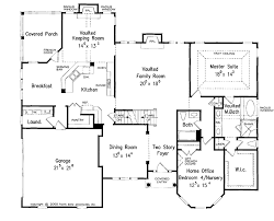 split entry floor plans colonial style house plan 4 beds 4 baths 2884 sq ft plan 927