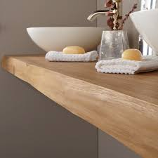 wood slab vanity product details material teak vanity width 49