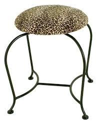 Swivel Vanity Stool Wrought Iron Desks And Vanity Tables