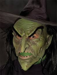 Scary Witch Halloween Costumes Scary Witch Mask Costumes Wigs Theater Makeup Accessories
