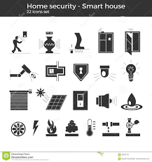 smart home vector icons stock vector image 83591731