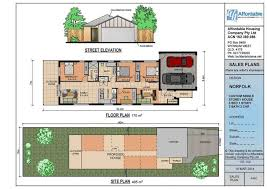 house plans for narrow lots with rear garage excellent side lot