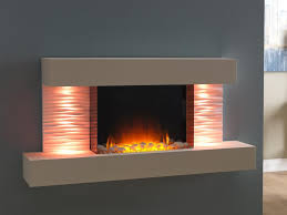 Electric Wall Mounted Fireplace Electric Fireplace Contemporary Closed Hearth Wall Mounted