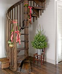 Country Home Christmas Decorating Ideas by Log Cabin Home Decor