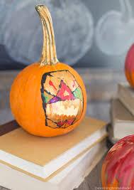 diy painted pumpkins blooming homestead